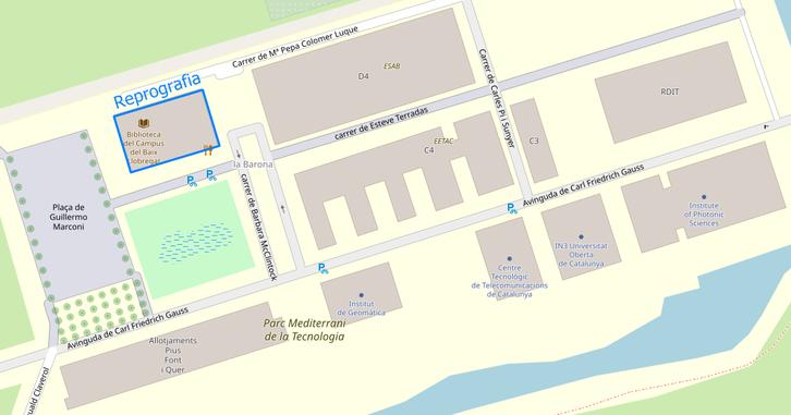 Reprografia ubicacio